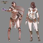 Rosgladia: Antheia design 1 by Wen-M