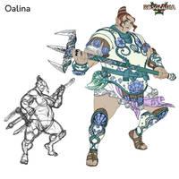 Oalina by Wen-M