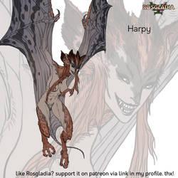 Rosgladia: Harpy by Wen-M