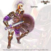 Rosgladia: Spartae by Wen-M