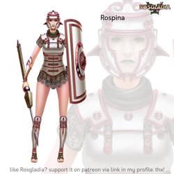 Rosgladia: Rospina by Wen-M