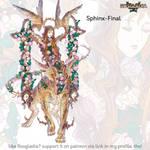 Rosgladia: Sphinx-final by Wen-M