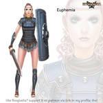 Rosgladia: Euphemia by Wen-M
