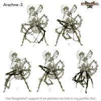 Rosgladia: Arachne-3 by Wen-M