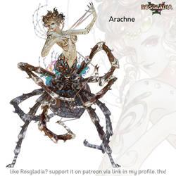 Rosgladia: Arachne-Final by Wen-M