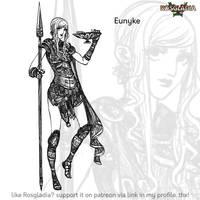 Rosgladia: Eunyke by Wen-M