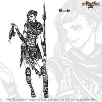 Rosgladia: Rhode by Wen-M