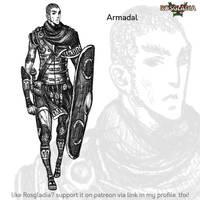 Rosgladia: Armadal by Wen-M