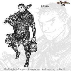 Rosgladia: Cesan by Wen-M