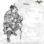 Rosgladia: Melitta by Wen-M
