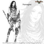 Rosgladia: Fionnaghal by Wen-M