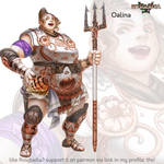 Rosgladia: Oalina-G1 by Wen-M
