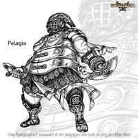 Rosgladia: Pelagia by Wen-M