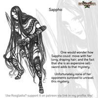 Rosgladia: Sappho by Wen-M