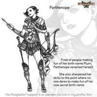 Rosgladia: Parthenope by Wen-M