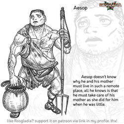 Rosgladia: Aesop by Wen-M
