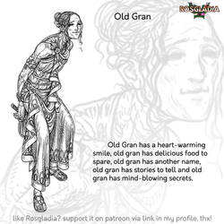 Rosgladia: Old Gran by Wen-M