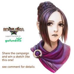 Rosgladia: Sketch 3 by Wen-M