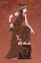 Rosgladia: Queen Alekte by Wen-M