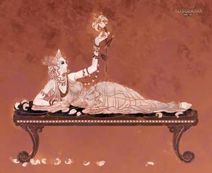 Rosgladia: Queen Enodyphe by Wen-M
