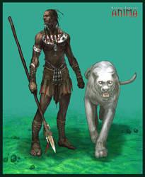 Anima: Forest warrior by Wen-M