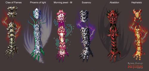 Anima: Battle gloves by Wen-M
