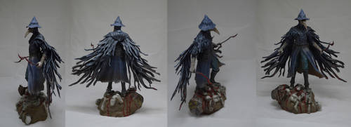 Eileen the crow sculpture by MichaelEastwood