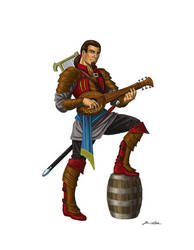 Bard Character Concept by Taman88