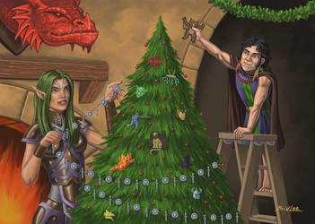 RPG Christmas Card by Taman88