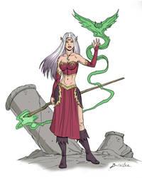 Kiara: Legends of Voldarus by Taman88