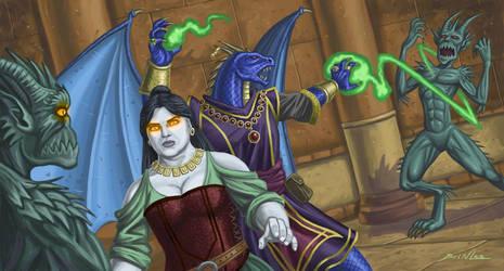 Wizards versus Demons by Taman88