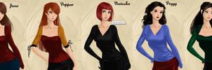 Avengers Women 2 by Marianagmt