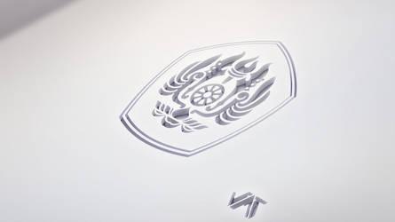 Unpad - CutOut! logo 3d by JatZio