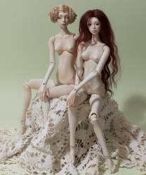Aisedora and Mari by Elena-Aki