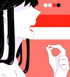 Love is a Drug - July Palette - Sketch by iequaltrash
