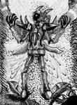 Inktober: Ink Phoenix N.A.V.O.S by ProtoTEnterprise