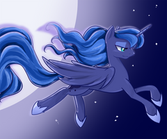 Princess Luna by U1fric