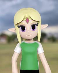 Zelda soccer by Toony-3D