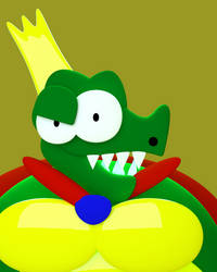 King K rool by Toony-3D