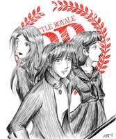 Battle Royale -Not like Takako by fortykoubuns