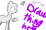 What is that thing...? MLP base #002 by AlyssumPetal