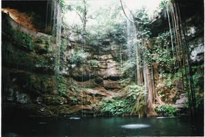 Cenote near Chitzen Itza by infin8yquest