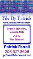 Tile By Patrick Biz Card by infin8yquest