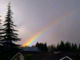 Valentine's Day Rainbow by infin8yquest