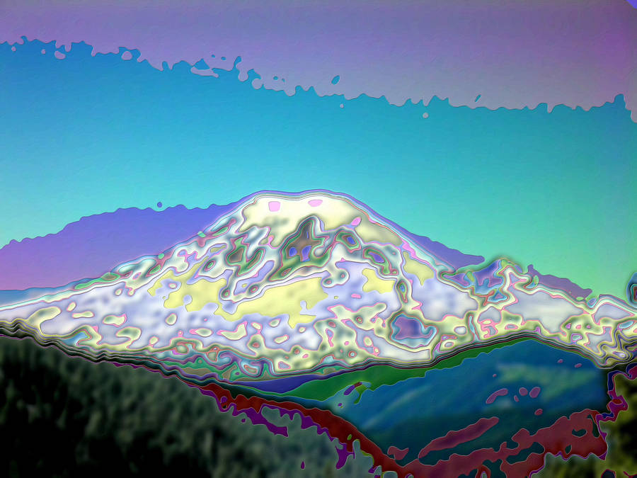 White Pass Rainier Enamel by infin8yquest