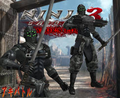 NG3RE Black Spider Tactical Ninja By SSPD077 by SSPD077
