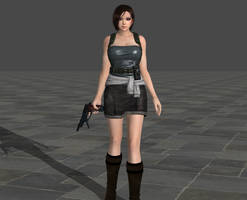 DOA5LR Jill Valentine Preview by SSPD077