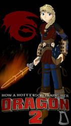 How a Hofferson Trains her Dragon 2 - Astrid by RoseThornArt