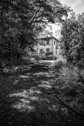 The way to ruined clinic by peka-photography