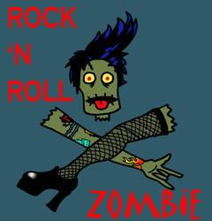 Rock n Roll Zombie V by Kenderi